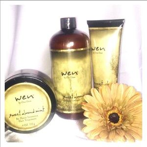 Wen hair care products.